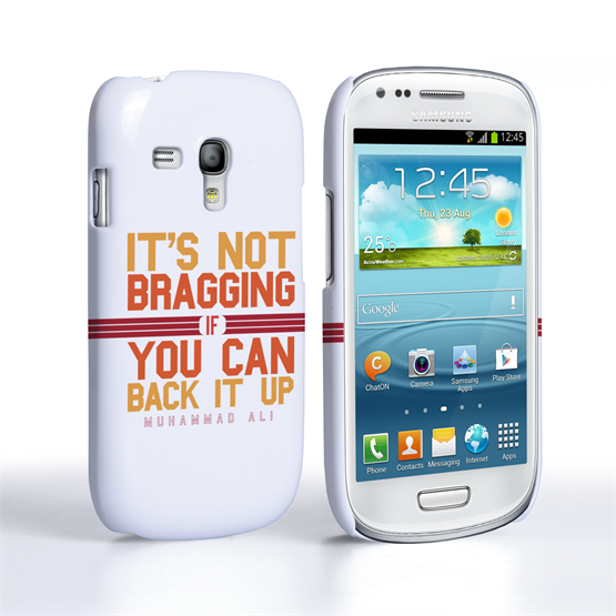 Caseflex Samsung Galaxy S3 Mini Muhammad Ali Quote Case
