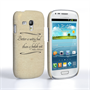 Caseflex Samsung Galaxy S3 Mini Shakespeare Quote Case