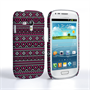 Caseflex Samsung Galaxy S3 Mini Fairisle Case – Pink and Black