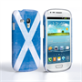 Caseflex Samsung Galaxy S3 Mini Retro Scotland Flag Case