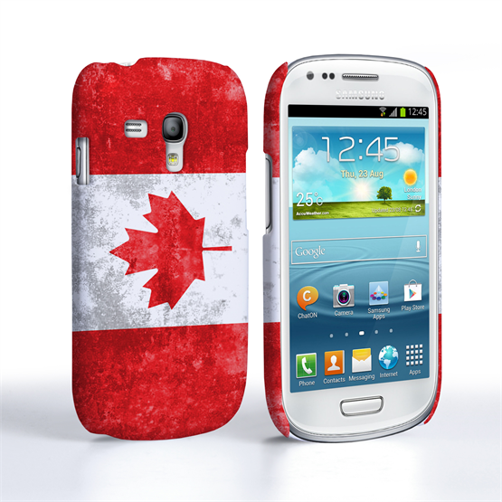 Caseflex Samsung Galaxy S3 Mini Retro Canada Flag Case