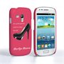Caseflex Samsung Galaxy S3 Mini Marilyn Monroe 'Shoe' Quote Case