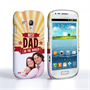 Caseflex Samsung Galaxy S3 Mini Best Dad in the World (Red) Case/Cover