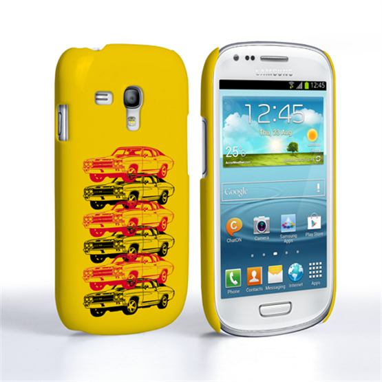 Caseflex Chevrolet Chevelle Classic Car Samsung Galaxy S3 Mini Case- Yellow