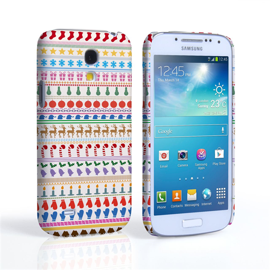 Caseflex Samsung Galaxy S4 Mini Christmas Case