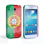 Caseflex Samsung Galaxy S4 Mini Retro Portugal Flag Case