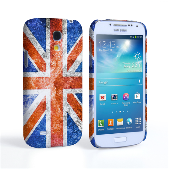 Caseflex Samsung Galaxy S4 Mini Retro Union Jack Flag Case