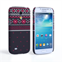 Caseflex Samsung Galaxy S4 Mini Fairisle Case – Grey and Red Half Pattern