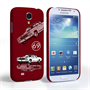 Caseflex Chevrolet Chevelle Classic Car Samsung Galaxy S4 Mini Case- Burgundy