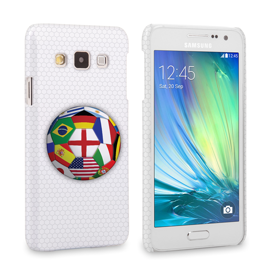 Caseflex Samsung Galaxy A3 Flags World Cup Case