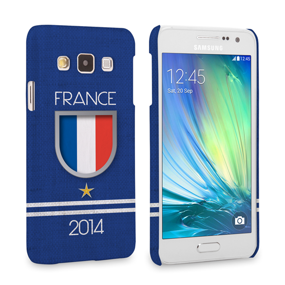 Caseflex Samsung Galaxy A3 France World Cup Case