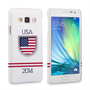 Caseflex Samsung Galaxy A3 USA World Cup Case