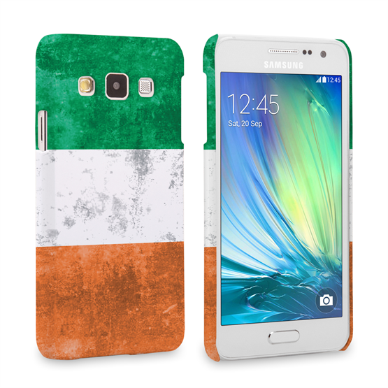 Caseflex Samsung Galaxy A3 Retro Ireland Flag Case