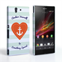 Caseflex Sony Xperia Z Anchor Love Heart Case