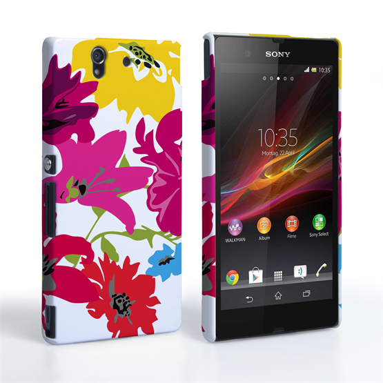 Caseflex Sony Xperia Z Retro Flower Bouquet Case