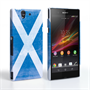 Caseflex Sony Xperia Z Retro Scotland Flag Case