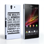 Caseflex Father Family Quote Sony Xperia Z Case
