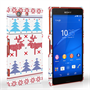 Caseflex Sony Xperia Z3 Compact Christmas Heart Reindeer Tree Jumper Hard Case