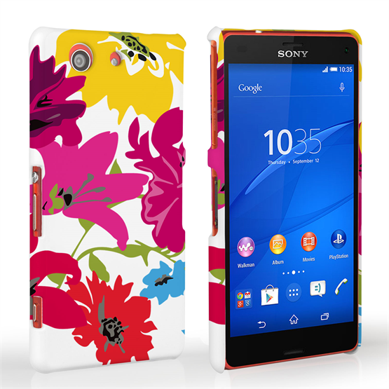 Caseflex Sony Xperia Z3 Compact Retro Flower Bouquet Case