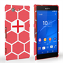Caseflex Sony Xperia Z3 Compact England Football Pattern World Cup Case