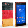 Caseflex Sony Xperia Z3 Compact Retro Germany Flag Case