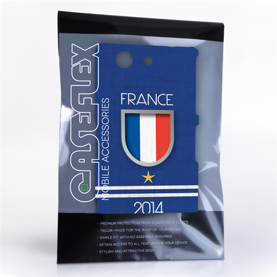 Caseflex Sony Xperia Z3 Compact France World Cup Case