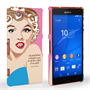 Caseflex Sony Xperia Z3 Compact Marilyn Monroe 'Fear is Stupid' Quote Case
