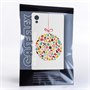 Caseflex Sony Xperia Z3+ Christmas Bauble Decorations Hard Case