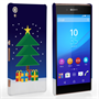 Caseflex Sony Xperia Z3+ Christmas Night Tree & Presents Hard Case