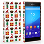 Caseflex Sony Xperia Z3+ Retro Game Christmas Presents & Pudding Hard Case