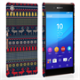 Caseflex Sony Xperia Z3+ Reindeer Christmas Jumper Hard Case - Navy / Yellow