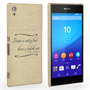 Caseflex Sony Xperia Z3 Plus Shakespeare Quote Case