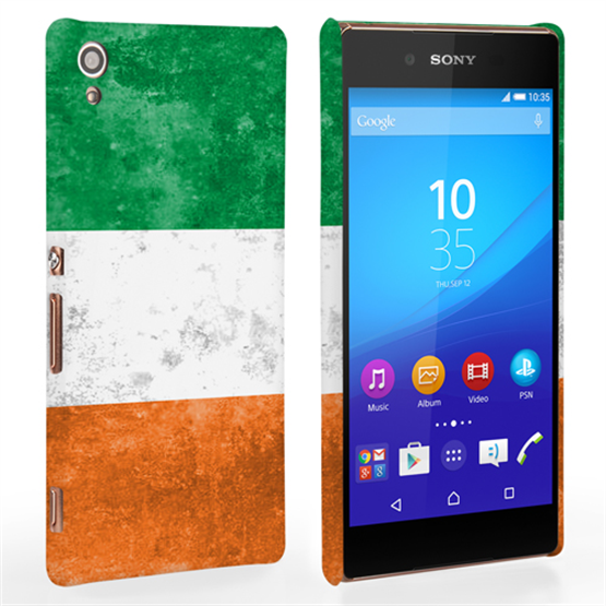 Caseflex Sony Xperia Z3+ Retro Ireland Flag Case