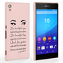 Caseflex Sony Xperia Z3 Plus Audrey Hepburn 'Eyes' Quote Case