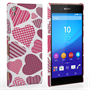 Caseflex Sony Xperia Z3+ Love Heart Pattern Case