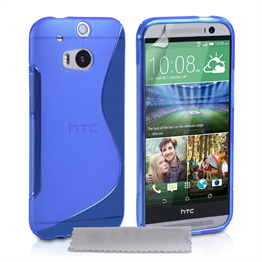 Caseflex HTC One S S-Line Case - Blue