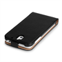 Caseflex HTC Desire 610 Real Leather Flip Case - Black