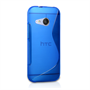 Caseflex HTC One Mini 2 Silicone Gel S-Line Case - Blue