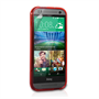 Caseflex HTC One Mini 2 Silicone Gel S-Line Case - Red