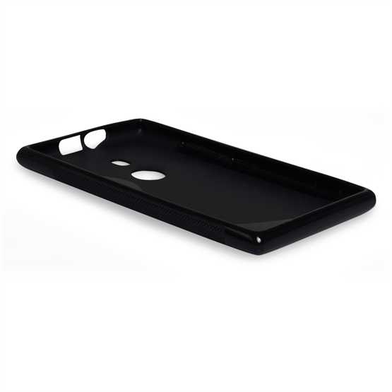 Caseflex Nokia Lumia 925 S-Line Gel Case - Black