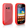 Caseflex Samsung Galaxy Mini 2 S-Line Case - Red