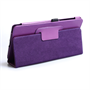 Caseflex Nexus 7 Textured Faux Leather Stand Case - Purple
