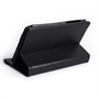 Caseflex Nexus 7 Textured Faux Leather 360 Rotating Stand Case - Black
