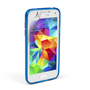 Caseflex Samsung Galaxy S5 Mini Silicone Gel S-Line Case - Blue