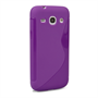 Caseflex Samsung Galaxy Core Plus Silicone Gel S-Line Case - Purple