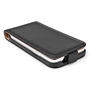 Caseflex Samsung Galaxy Core Plus Real Leather Flip Case - Black