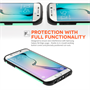 Caseflex Samsung Galaxy S6 Edge Tough Armor - Mint Green Case