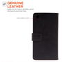 Caseflex Sony Xperia Z3 Real Leather Wallet Case - Black