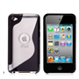 Caseflex Apple iPod Touch 4 Silicone Gel S-Line Case - Black
